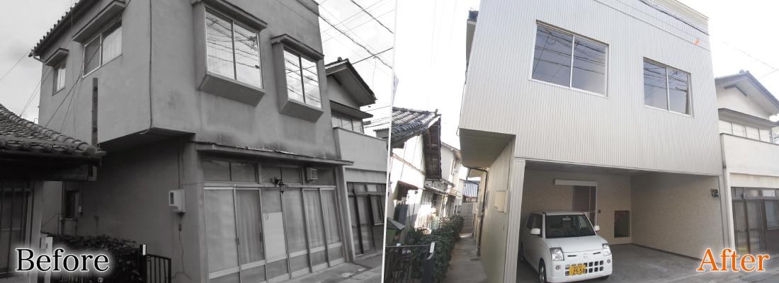 松本市北深志 空き家賃貸再生実例 トップイメージ