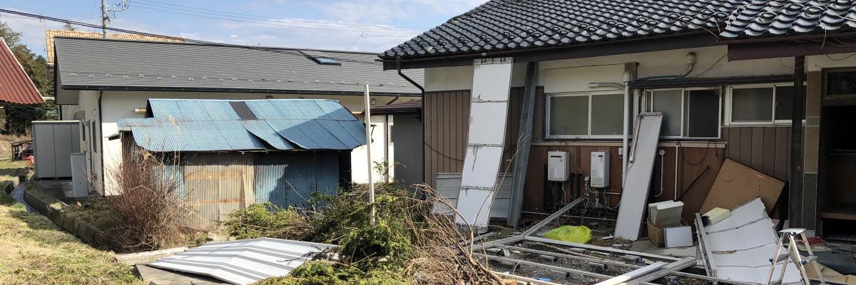 長野県伊那市荒井の空き家買取物件です。トップ画像